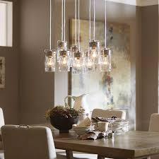 Multiple Lamp Shade Chandelier by Allen Roth Vallymede 25 47 In Brushed Nickel Barn Multi Light