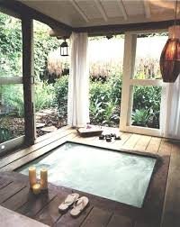 Outdoor Backyard Ideas by Best 25 Backyard Tubs Ideas Only On Pinterest Diy Hottub