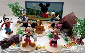 amazon com mickey mouse clubhouse birthday cake topper featuring