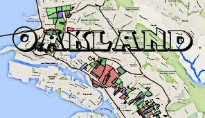 me a map of california oakland california map roundtripticket me