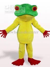 Frog Halloween Costumes Professional Sale Custom Frog King Plush Mascot