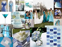 tbdress trendy and stylish blue wedding theme