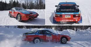 porsche 944 rally car the road less traveled one member u0027s rally spec 944 porsche club