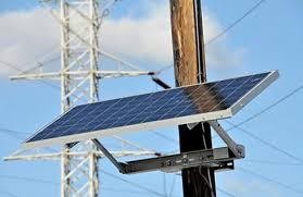 use solar n j solar panels on utility poles to use at t cnet