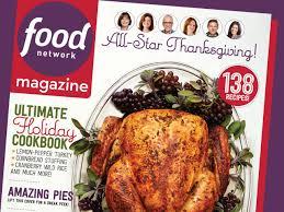 food network thanksgiving food network magazine november 2015 recipe index food network