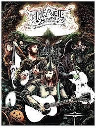 inside the rock poster frame blog miles tsang avett brothers