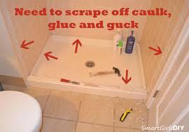 guest bathroom 1 bye bye shower doors