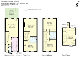 Harrods Floor Plan Chester Close Queens Ride London Sw13 4 Bed Terraced House For