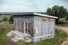 single pitch roof house each unit is custom built using locally