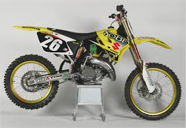 2001 suzuki rm motocrossers completely new 125 and 250