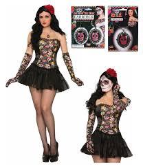day of the dead senorita costume kit halloween costumes
