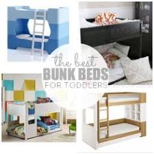 Small Toddler Bunk Bed PLANS Fits Two Crib Size Mattresses - Ikea kid bunk bed