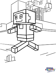 minecraft u2013 coloring pages u2013 original coloring pages