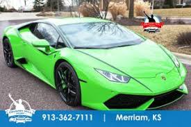 used lamborghini huracan used lamborghini huracan for sale in kansas city mo edmunds