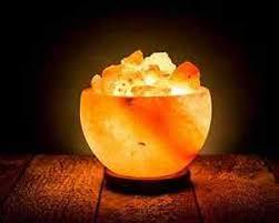 ebay himalayan salt l natural himalayan rock salt bowl l crystal soft amber hand