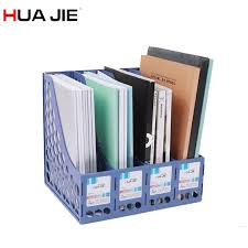 Desk Folder Organizer 4 Layers Desk Office Magazine File Folder Organizer Box Document