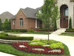 colonial home design house front landscaping ideas front landscaping ideas design for