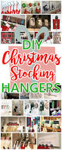 the best diy christmas stocking hangers and display ideas u2013 cheap