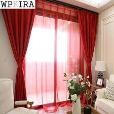 rideau pour fenetre chambre store cuisine solide couleur jalousie rideaux pour salon