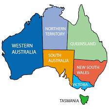 territories of australia map vector map of australian territories at vectorportal