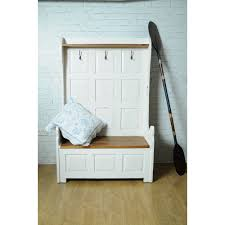 Storage Bench With Hooks by Why Not A Distressed Storage Bench Home Inspirations Design