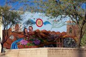 tucson and the sentinels of the desert island girl walkabout there is lots of interesting mural art in tucson which we love one mural which spells out the word tucson