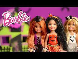 barbie chelsea halloween dolls youtube