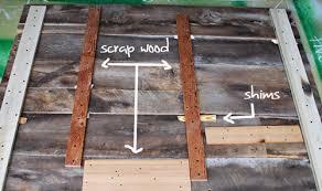 Reclaimed Wood Headboard by Diy Project Salvaged Barnwood Headboard U2013 Design Sponge