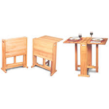 fold away butcher block table 110210 kitchen u0026 dining at