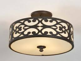 Flush Mounted Ceiling Lights by Ceiling Light Vintage Flush Mount Ceiling Lights For Kitchen