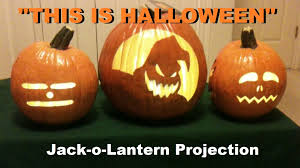 this is halloween singing pumpkins jack o lantern projection