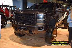 lifted gmc 2015 lifted gmc denali truck on specialty forged wheels 2015 sema