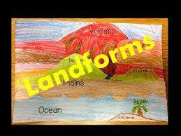 types of landforms for kids a video lesson youtube