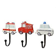 amazon com kids car themed coat hook for boys room toys u0026 games