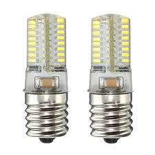microwave light bulb led kingso e17 led bulb microwave oven light 4 watt daylight white 6000