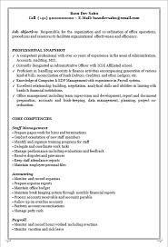 Mis Resume Example by Resume Blog Co Resume Sample Of A Competent Professional With