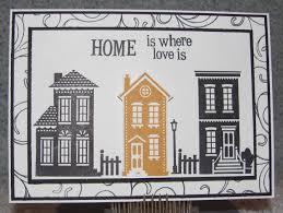 housewarming handmade greeting card home is where the heart is new