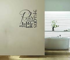 bathroom ideas bathroom wall decals stickers on white painted