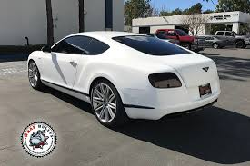 bentley wrapped satin white bentley vehicle wrap wrap bullys