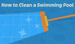 how to clean a swimming pool the right way