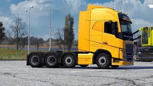 2012 volvo truck volvo fh16 2012 8x4 taglift euro truck simulator 2 mods