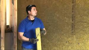 Basement Wall Insulation Options by How To Insulate Your Basement Wall Youtube