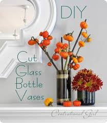 Diy Wine Bottle Vases Adventures In Bottle Cutting Centsational Style