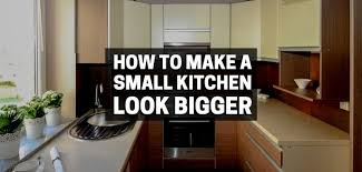how to make cabinets appear taller 15 ways to make a small kitchen look bigger handyman