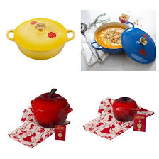 le creuset beauty and the beast disney find le creuset presents the disney collection