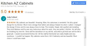 kitchen az cabinets chandler remodeling contractor customer reviews