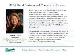 Usda Rural Housing Service Usda Rural Development Webinar Building Businesses On Rural Broadban U2026