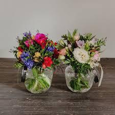 Flowers Same Day Delivery A Beautiful Globe Vase Includes A Fresh Seasonal Posy Wellington