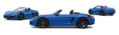 blue porsche boxster 2016 porsche boxster s 2dr convertible research groovecar