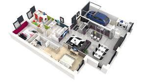plan maison simple 3 chambres ides de plan de maison simple 3 chambres en 3d galerie dimages